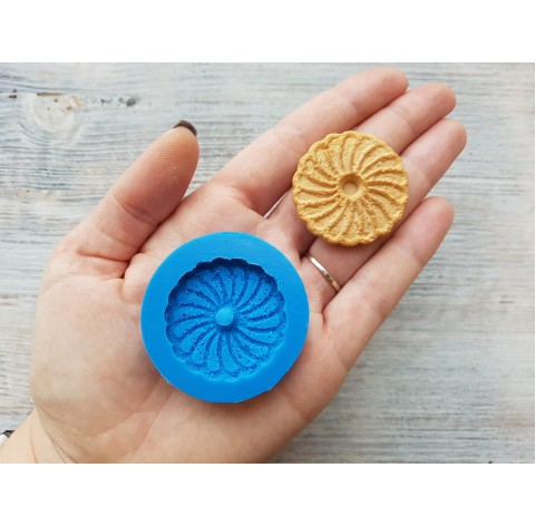 Silicone mold, cookie flower, ~ Ø 3.6 cm