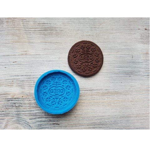 """Silicone mold, cookie """"O"""", large, ~ Ø 4.5 cm"""