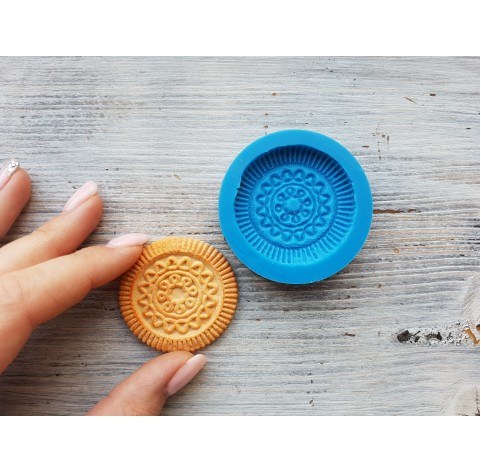 Silicone mold, cookie 1, ~ Ø 4.5 cm
