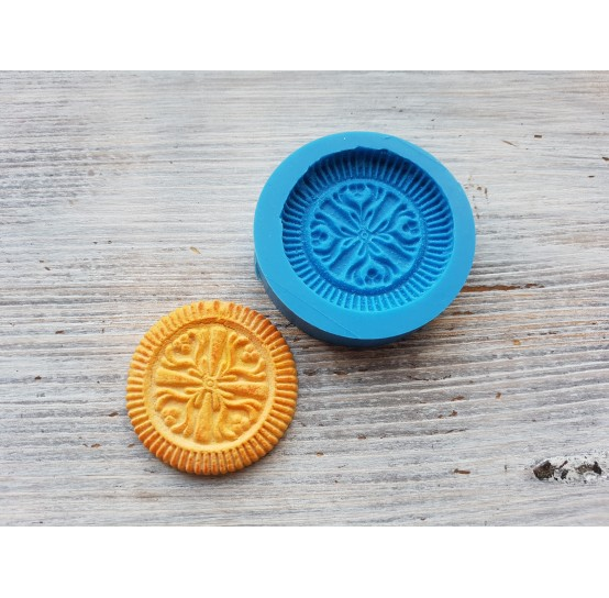 Silicone mold, cookie 2, ~ Ø 4.5 cm