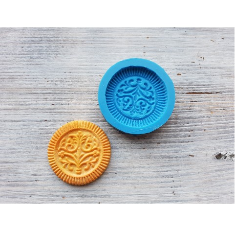 Silicone mold, cookie 3, ~ Ø 4.5 cm