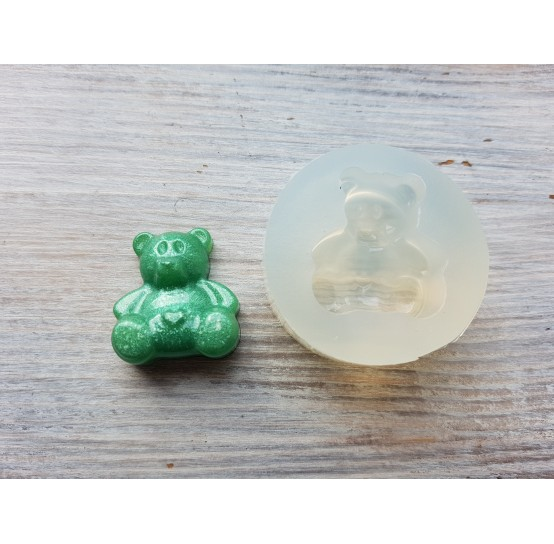 Silicone molds for epoxy, bear, ~ 2.4*2.7 cm