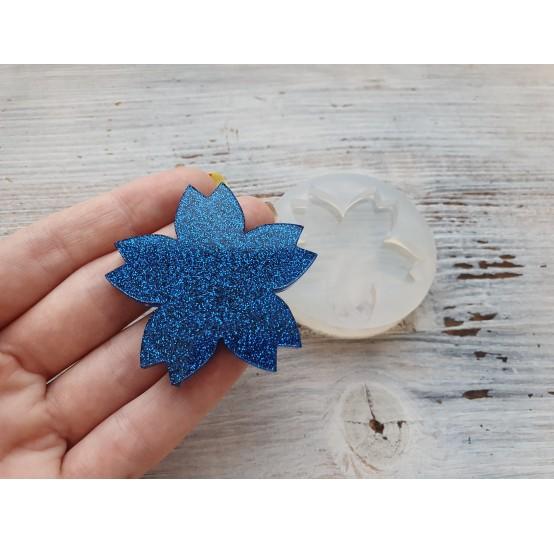 Silicone molds for epoxy, sakura flower, small, ~ 5 cm