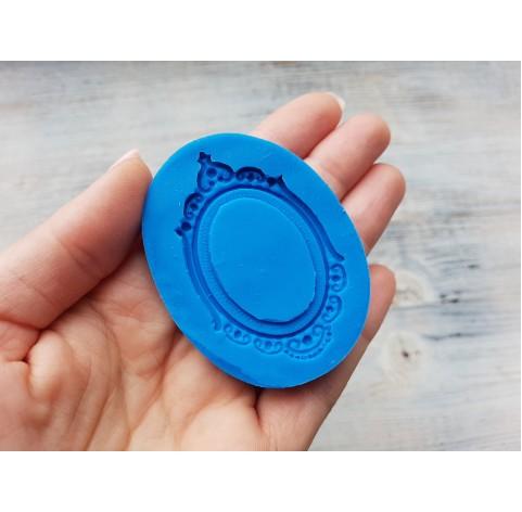 Silicone mold, frame, ~ 3.3 * 5.7 cm