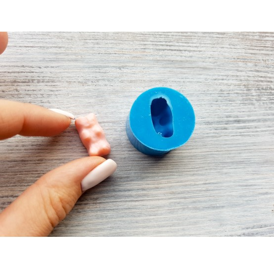 Silicone mold, jelly bear, ~ 1.2*2.2 cm