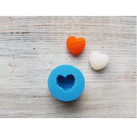 Silicone mold, sugar heart, ~ 1.7 cm