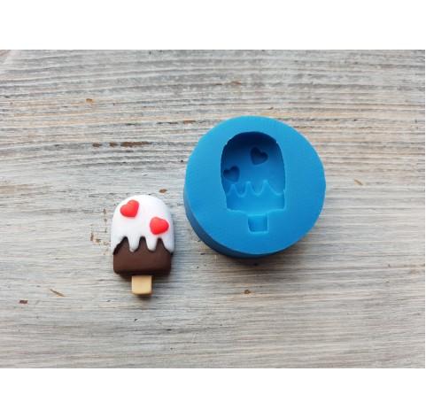 Silicone mold, ice cream on a stick, ~ 1.8*2.9 cm