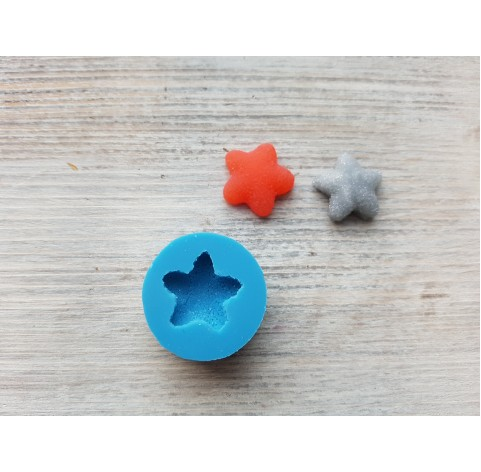 Silicone mold, sugar star, ~ 2.3 cm