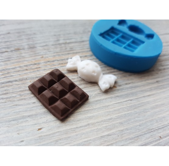 Silicone mold, candy and chocolate, ~ 2.1 cm