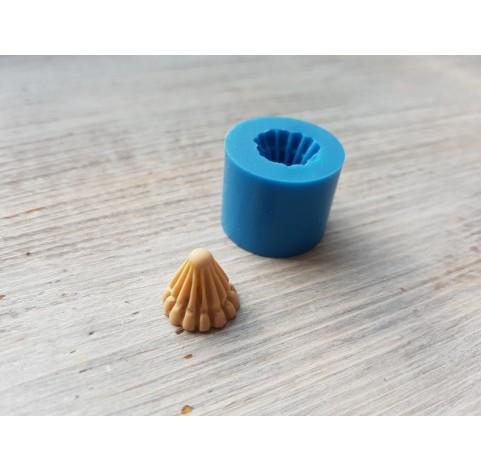 Silicone mold, candy cone, ~ Ø 1.3 cm, ~ H 1.2 cm