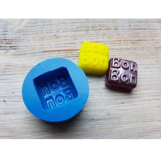 """Silicone mold, candy """"BB'', ~ 2.3*2.3 cm"""