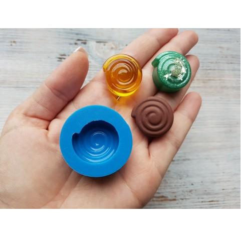 Silicone mold, candy spiral, ~ Ø 2.5 cm
