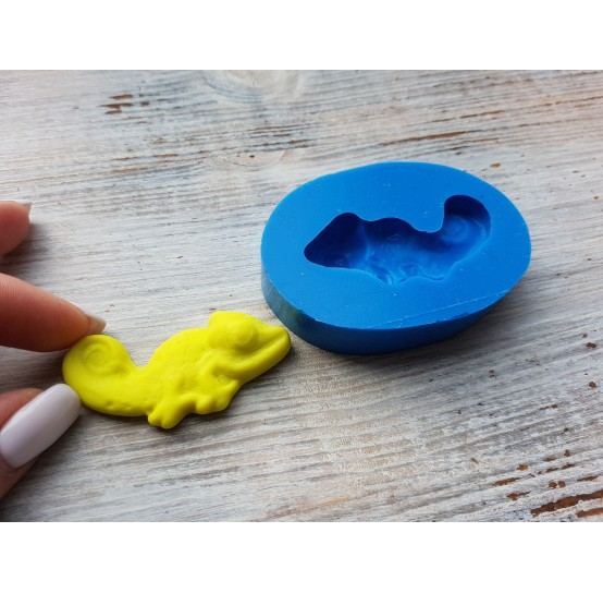 Silicone mold, jelly candy lizard, ~ 2.2*5.3 cm
