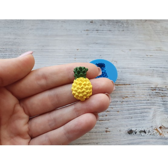 Silicone mold pineapple, Ø 2.5 cm