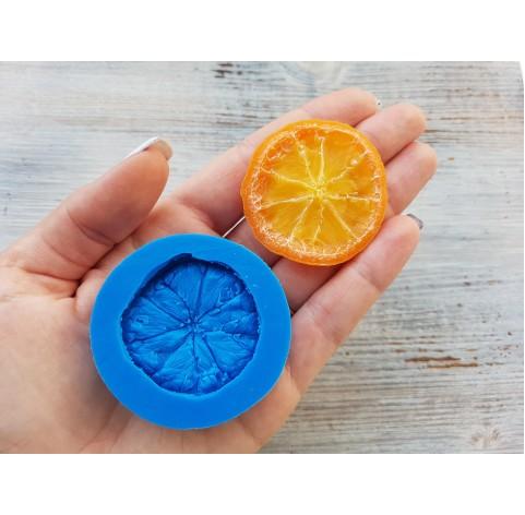 Silicone mold orange, Ø 4.5 cm