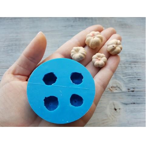 Silicone mold pumpkin imitation, Ø 1.5-2 cm