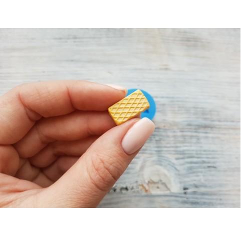 Silicone mold, rectangular waffle, ~ 1.7*1 cm