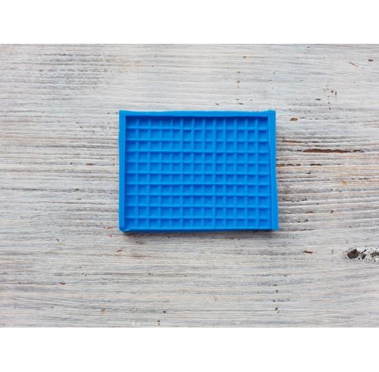 Silicone mold, large waffle bar, ~ 4.8*6.3 cm