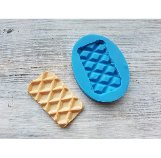 Silicone mold, rectangular waffle, ~ 2.8*5.1 cm