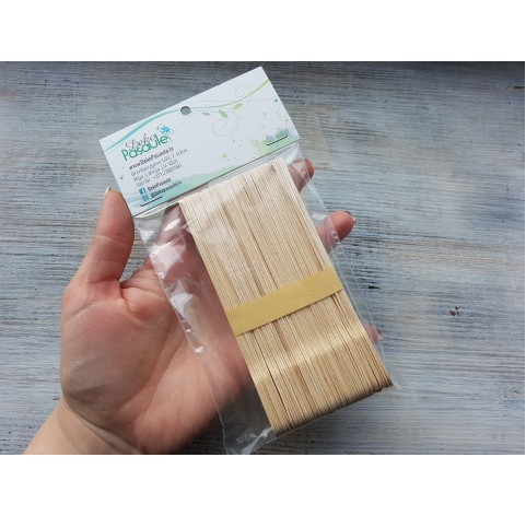 Sticks for mixing, 13 cm, about 50 pcs.