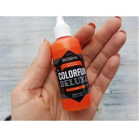 Dye for epoxy resins Colorfun Deluxe, pure orange, 30 ml