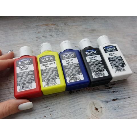 Dye for epoxy resins Colorfun Original, set, 5 colours, 125 ml