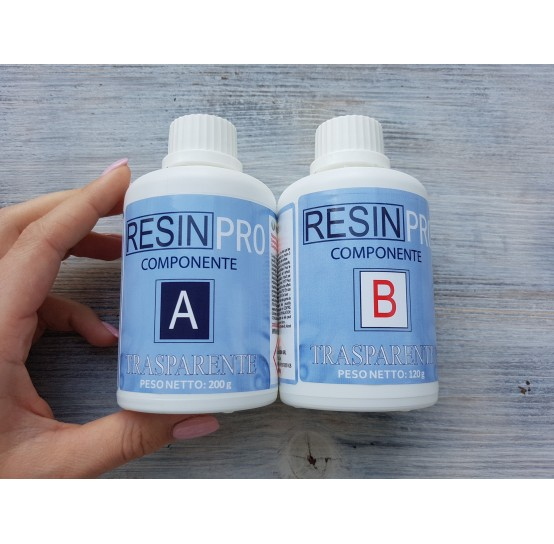 Epoxy Resin - water effect, transparent, 320 g