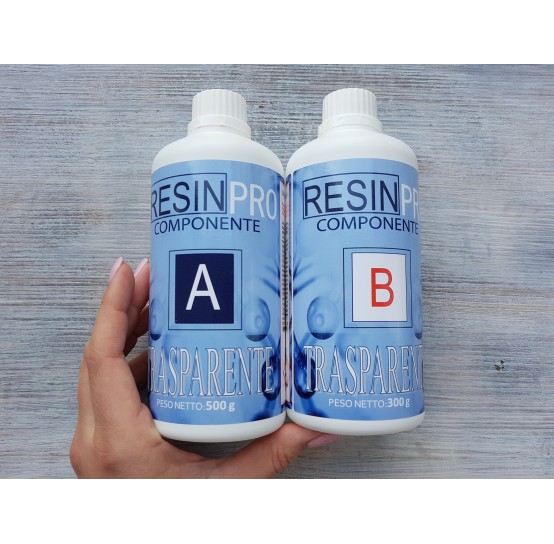Epoxy Resin - water effect, transparent, 800 g