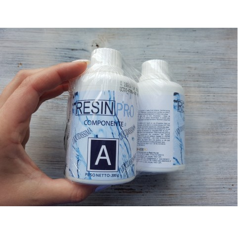 """Epoxy Resin """"Liquidissima"""", very liquid, transparent, 320 g"""