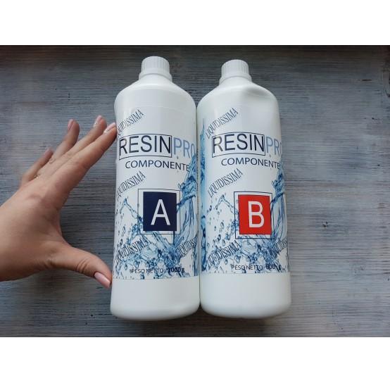 """Epoxy Resin """"Liquidissima"""", very liquid, transparent, 1.6 kg"""