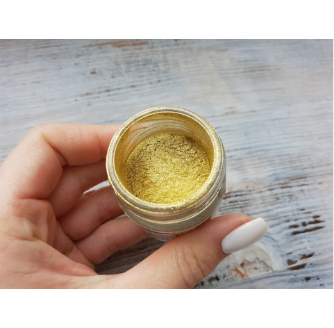 Metallic pigment for epoxy resins, gold, 25 ml