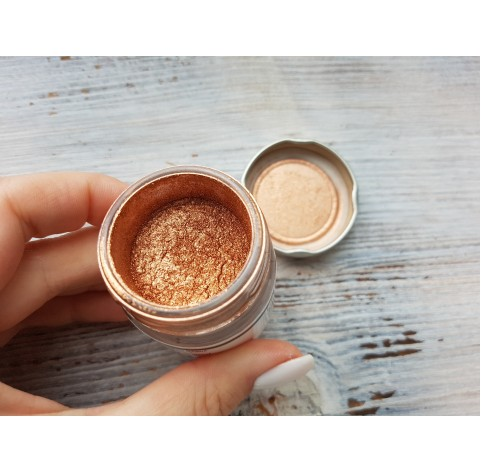 Metallic pigment for epoxy resins, copper, 25 ml