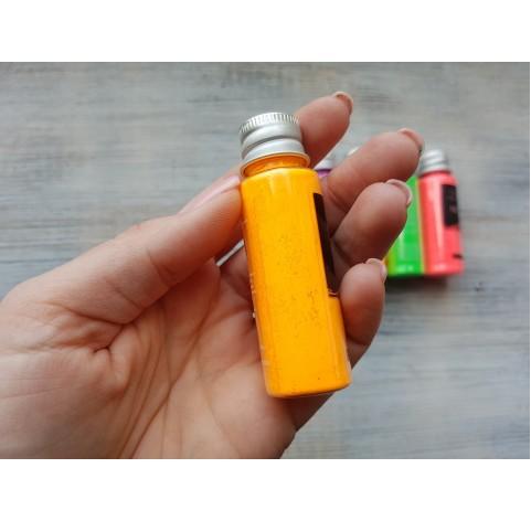 Neon color pigment, light orange, 10 gr