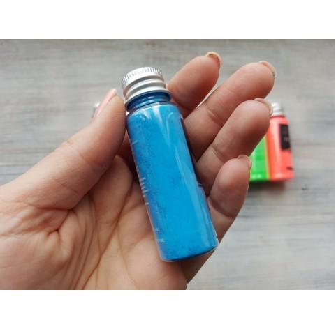 Neon color pigment, light blue, 10 gr