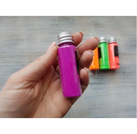 Neon color pigment, Violet, 10 gr