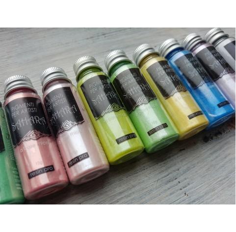 Pastel color pigments SAHARA, set of 10 colors, 100 g