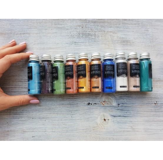 Metallic pigments SAHARA, set of 10 colors