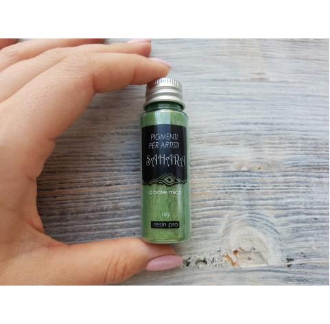 Metallic pigments SAHARA, green, 10 g