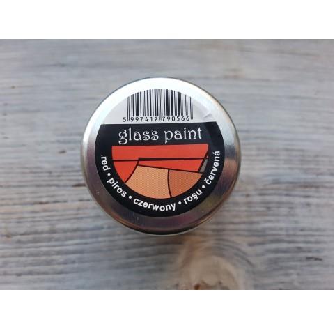 PENTART solvent based paint, red, 30 ml