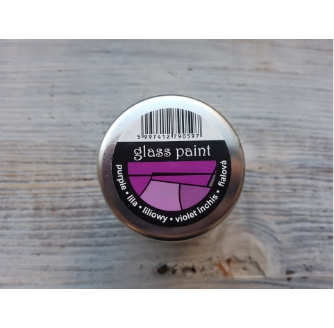 PENTART solvent based paint, violet, 30 ml