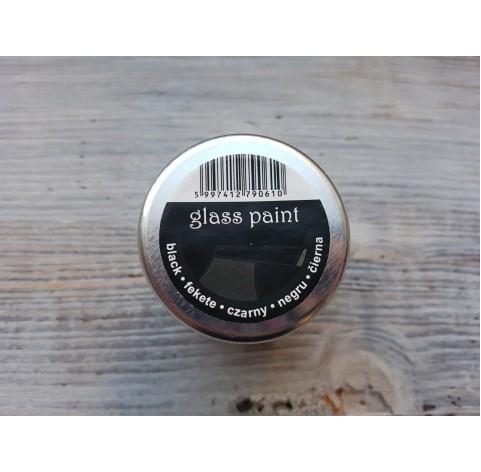 PENTART solvent based paint, black, 30 ml