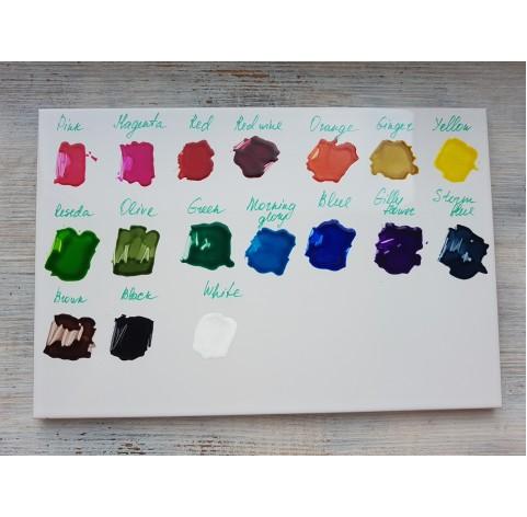 PENTART solvent based paint, white, 30 ml