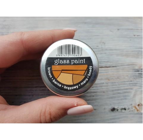 PENTART solvent based paint, brown, 30 ml