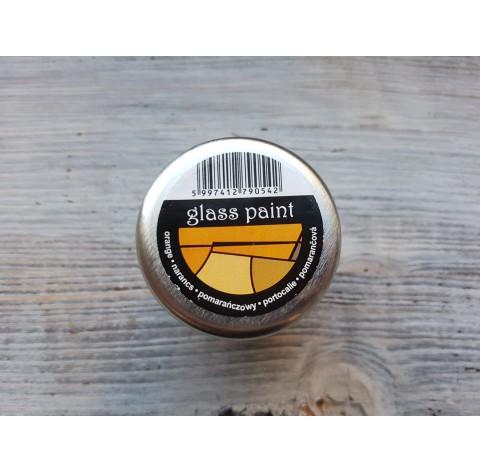PENTART solvent based paint, orange, 30 ml
