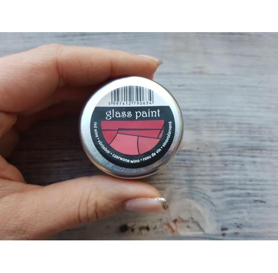 PENTART solvent based paint, red wine, 30 ml