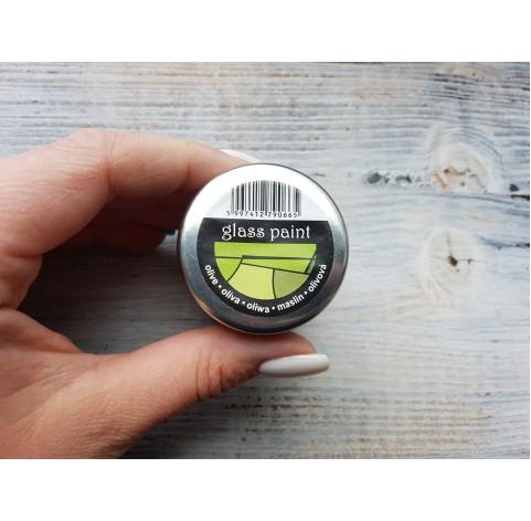 PENTART solvent based paint, olive, 30 ml