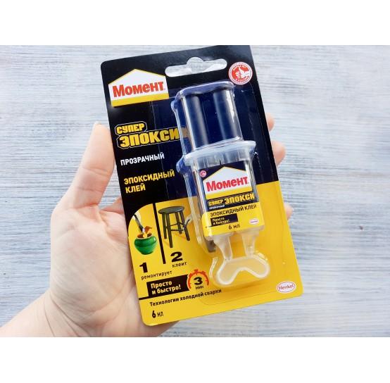 Epoxy glue 2k / Moment Repair Epoxy 6 ml (2*3 ml)