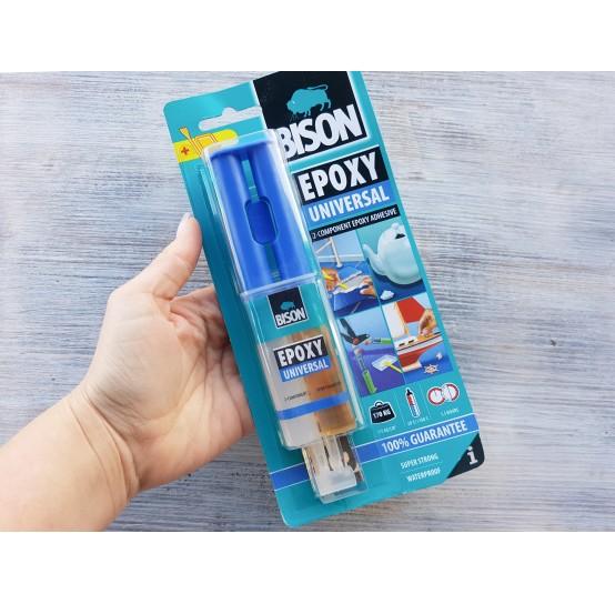 Epoxy glue Bison 2k / EPOXY UNIVERSAL 24 ml