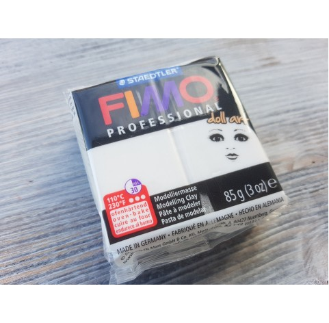 FIMO Professional Doll Art oven-bake polymer clay, porcelain, Nr. 03, 85 gr
