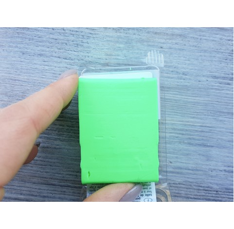 Pardo Jewelry and Art oven-bake polymer clay, neon green, Nr. 932, 56 gr